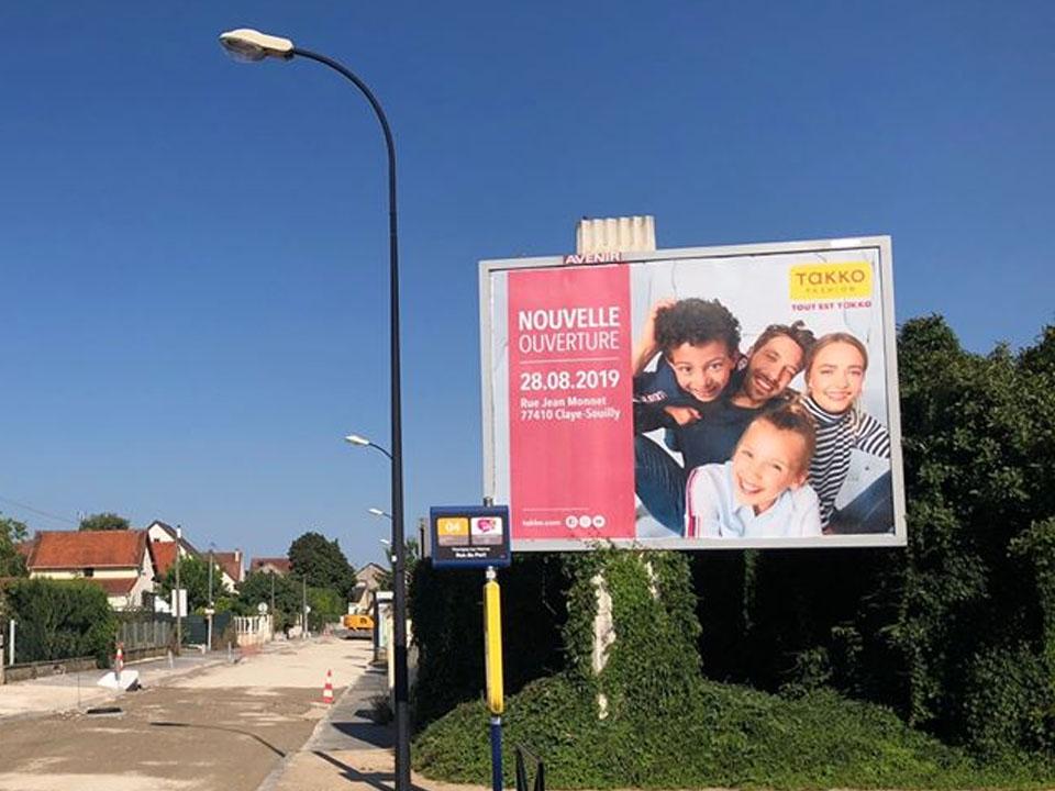 campagne publicitaire, affichage 4x3, affichage publicitaire