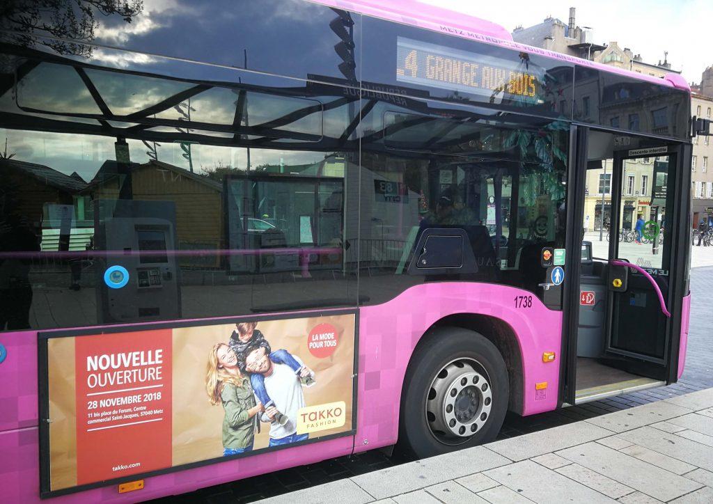 bus publicitaire, affichage publicité bus, campagne publicitaire