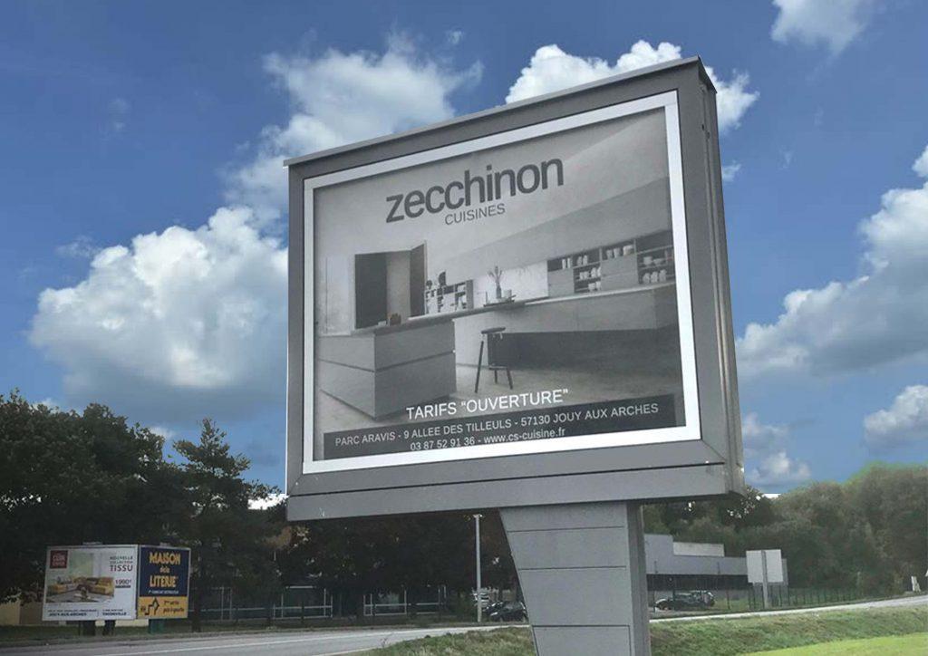 panneaux urbains, campagnes publicitaires, panneaux 4x3