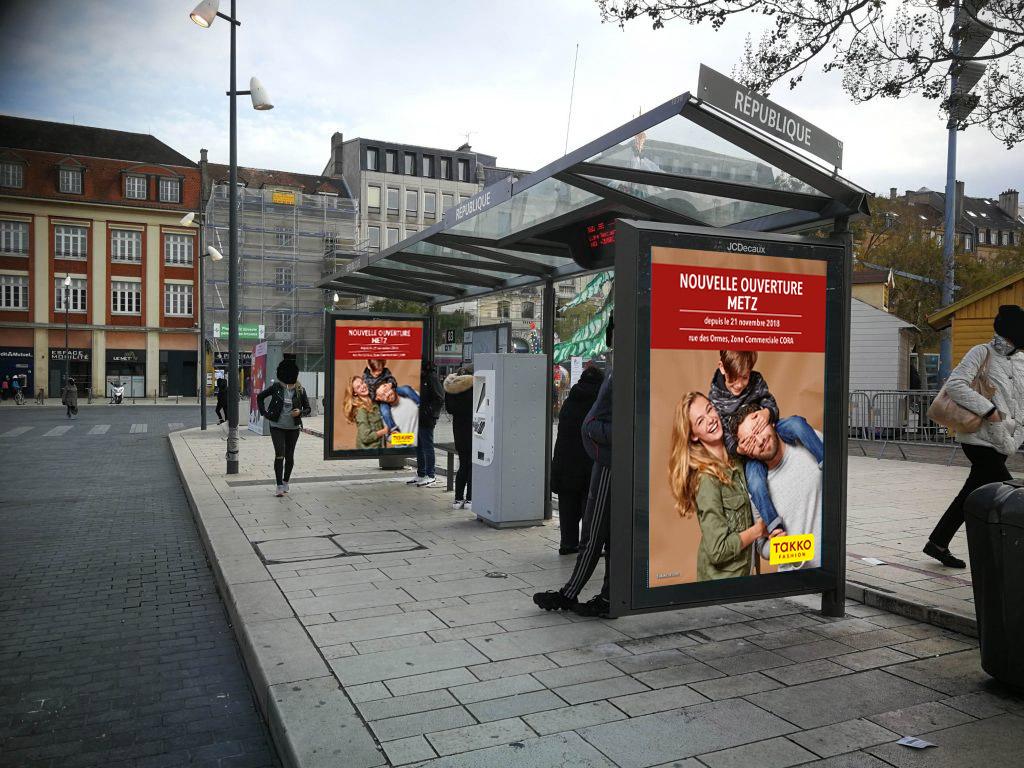 panneaux urbains, affichage publicitaires, campagne publicitaire